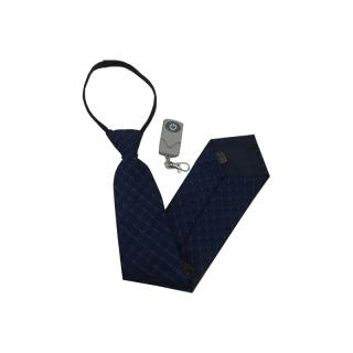 Špionážna kamera s diaľkovým ovládaním v kravate