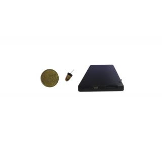 Mikro špionážne slúchadlo s GSM a Bluetooth modulom