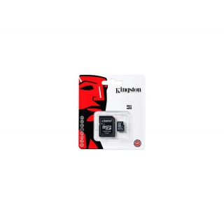 Kingston 8GB microSDHC Class 10 UHS-I (Čítanie 45MB/s, Zápis 10MB/s + SD adaptér)