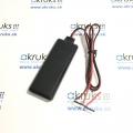 Multifunkčný GPS tracker AK 121 S  pre vozidlá s presným zisťovaním polohy