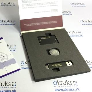 Profesionálny miniatúrny digitálny diktafón - EMT-B80+