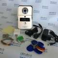 WiFi SMART video vrátnik s podporou iOS/Android/Windows aplikácii-AKR B-100