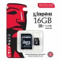 Kingston Industrial Temp micro SDHC 16GB + adaptér