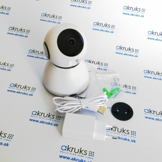 WiFi kamera s otočným objektívom 355°/55° P2P IP kamera