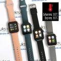 Smart hodinky s meraním teploty tela, monitorovaním srdca a krvi AKW37