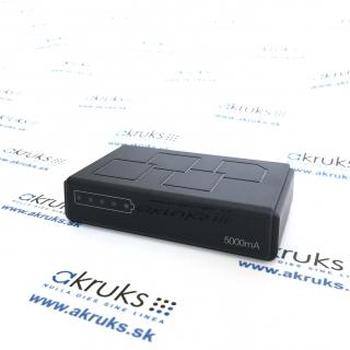 Power banka s dlhou výdržou a WiFi kamerou.