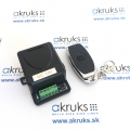 Set bezdrôtové relé RF433 MHz + diaľkový ovládač na otváranie dvier k video vrátnikovi