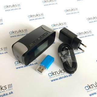 Stolové hodinky s batériou a WiFi kamerou s nočným videním dosahom 5 m AKIP006