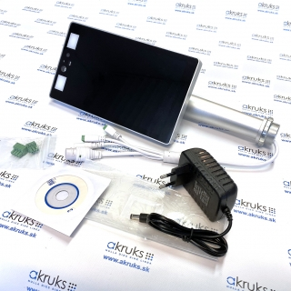 Zariadenie s funkciou merania telesnej teploty a rozpoznania tváre prostredníctvom IP kamery