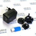 Skrytá Full HD WiFi kamera s nočným videním v sieťovom adaptéri