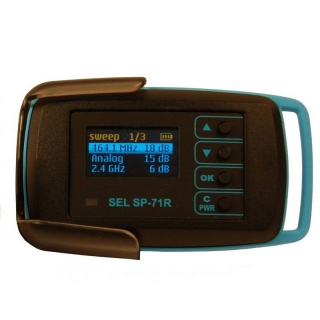 Detektor RF - merač frekvencie SEL SP-71R RAKSA