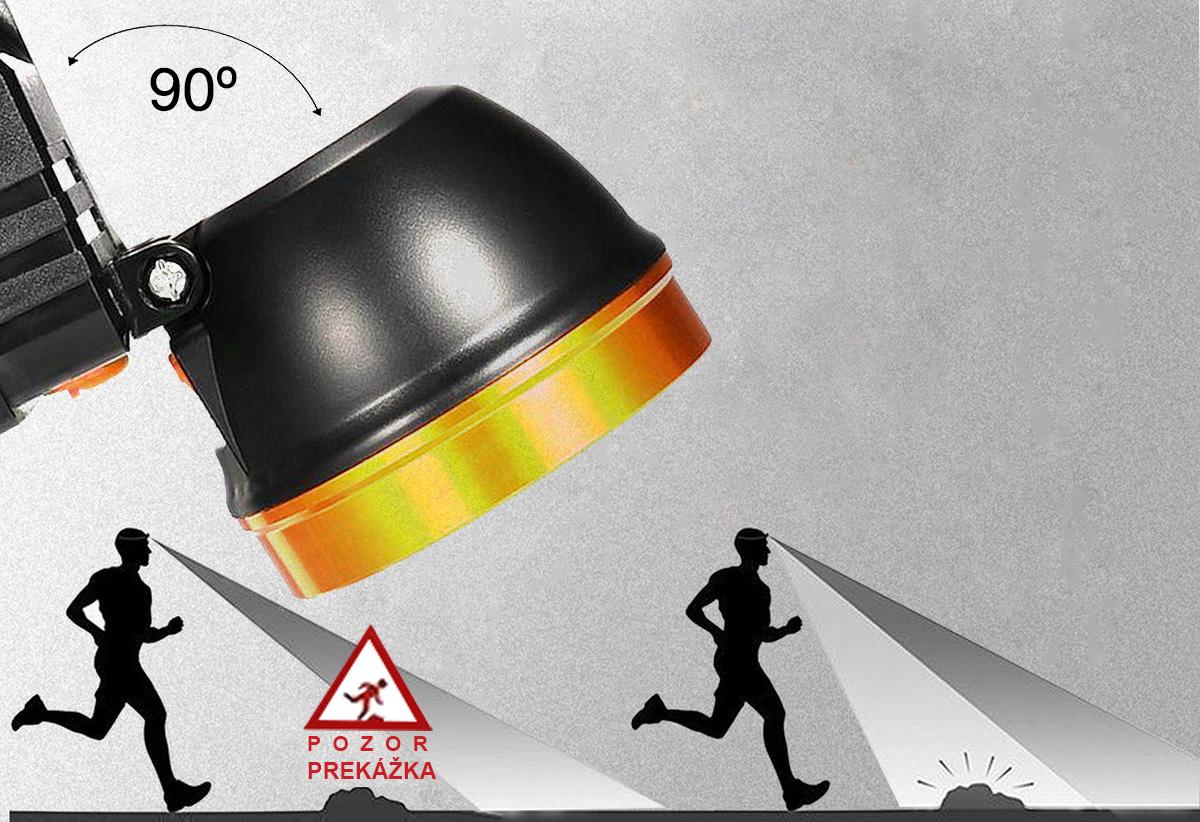LED Čelovka s FULL HD kamerou - AKC1080